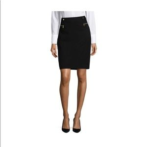 Calvin Klein Pencil Skirt with Zip Pockets